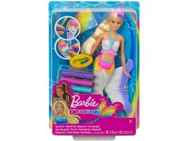 Mattel Barbie Dreamtopia Color Magic Mehrjungfrau Puppe