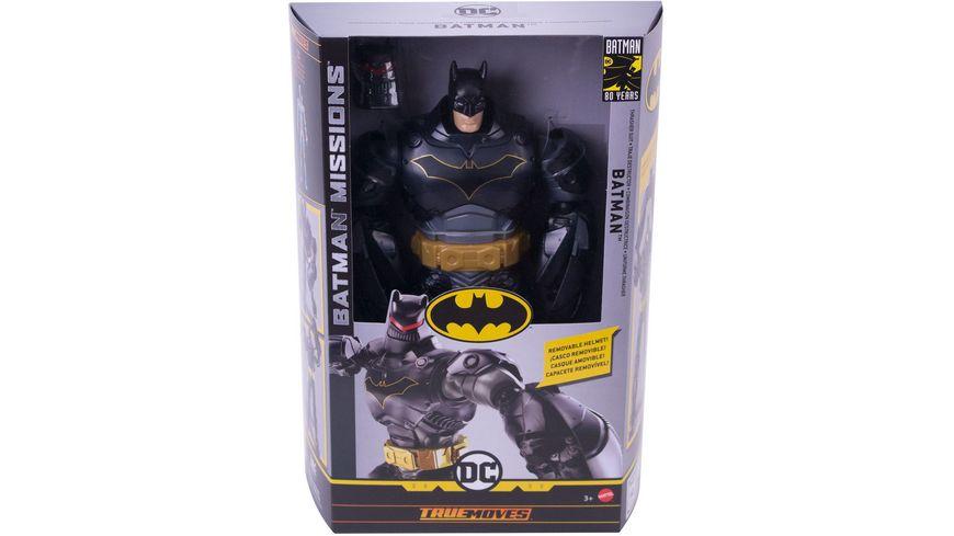 Mattel DC Batman Missions Figur Thrasher Armor Batman 30 cm