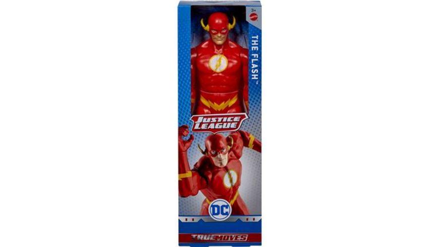 Mattel DC Justice League True Moves Figur The Flash 30 cm