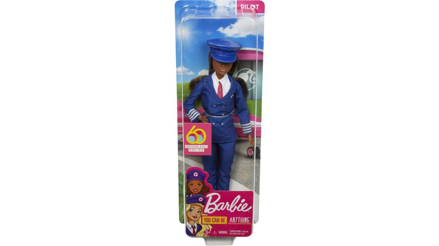 Mattel Barbie 60th Anniversary Pilotin Puppe