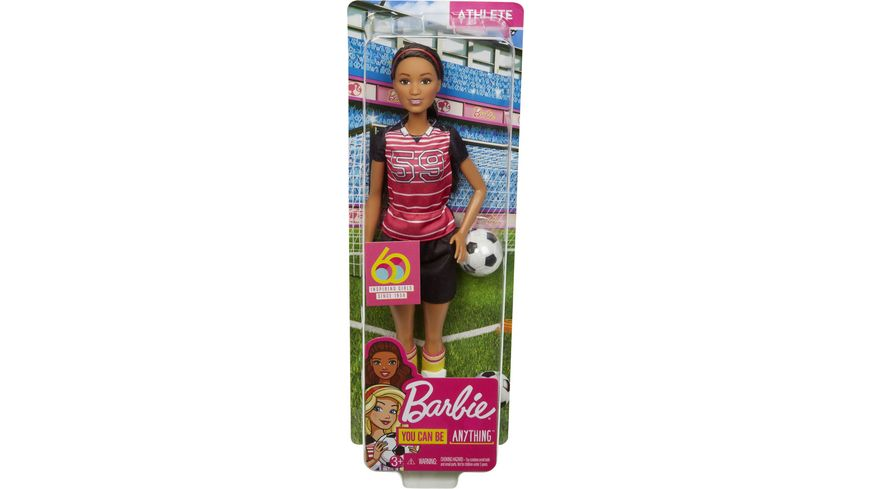 Mattel Barbie 60th Anniversary Sportlerin Puppe