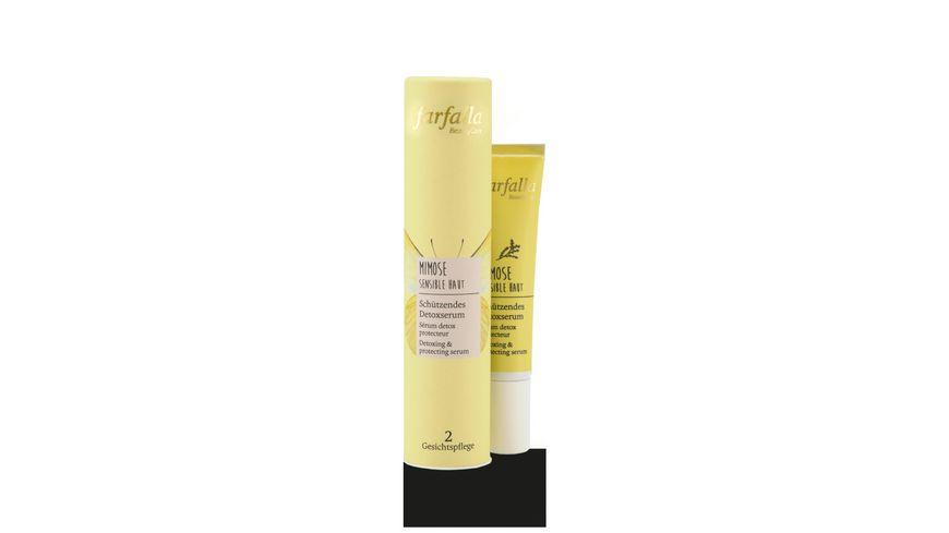 Farfalla Mimose Sensible Haut Schuetzendes Detoxserum
