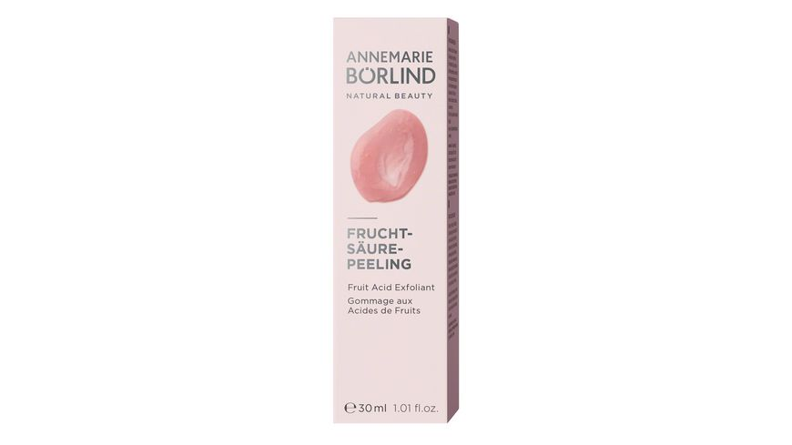 ANNEMARIE BOeRLIND Fruchtsaeure Peeling