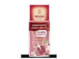 WELEDA Onpack Granatapfel Regenerations Oel mit Granatapfel Schoenheitsdusche