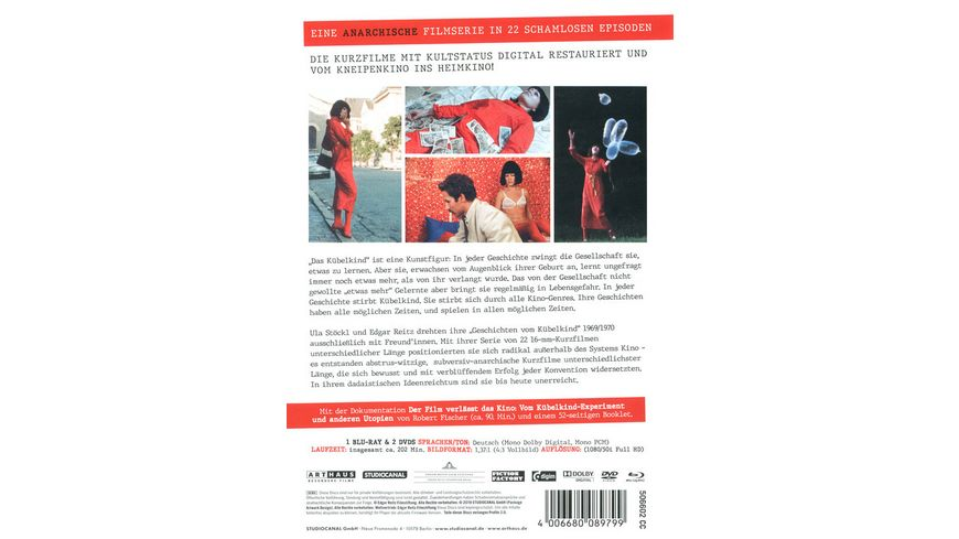 Geschichten vom Kuebelkind Special Edition Blu ray 2 DVDs