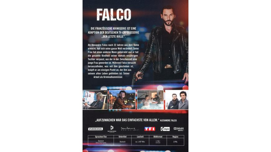 Falco Staffel 1 4 Gesamtedition 9 DVDs
