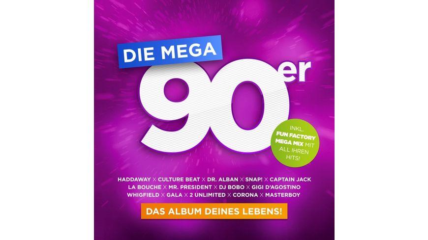 Die Mega 90er Das Album Deines Lebens