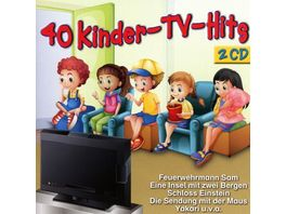 40 Kinder TV Hits 2 CDs
