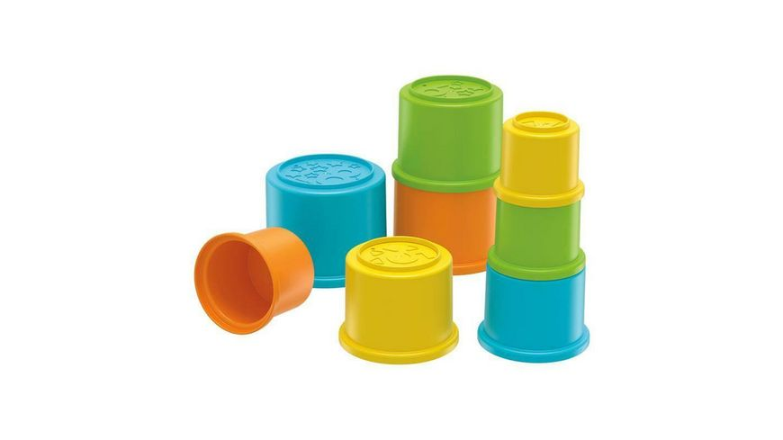 Fisher Price Bunte Stapelbecher