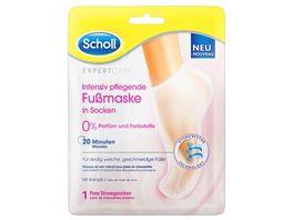 Scholl ExpertCare Intensiv pflegende Fussmaske 0 Parfuem und Farbstoffe