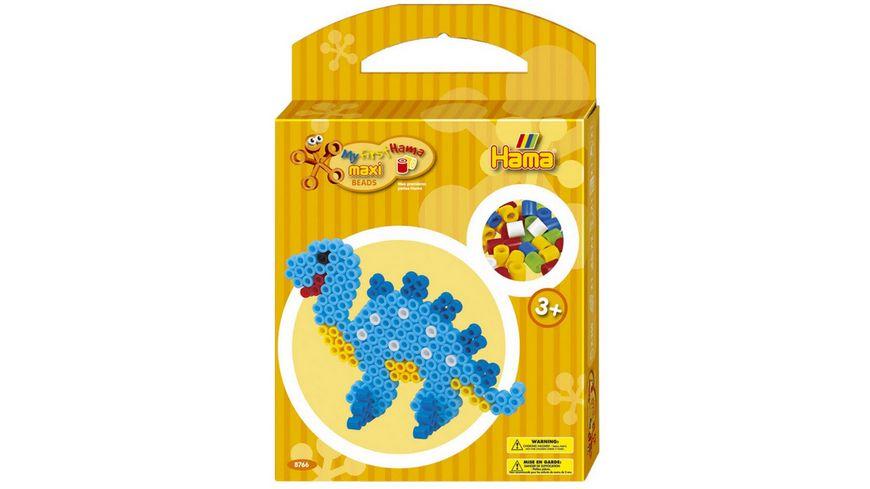 Hama Maxi Buegelperlen Set Dinosaurier