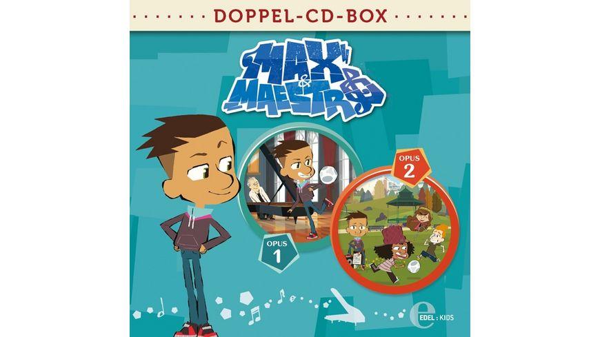 Max Maestro Doppel Box Folgen 1 2 HSP TV Serie