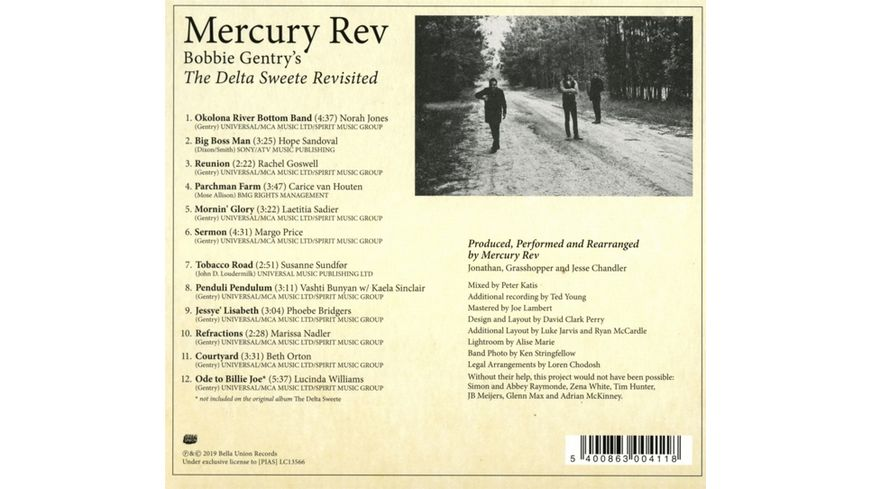 Bobbie Gentry s The Delta Sweete Revisited