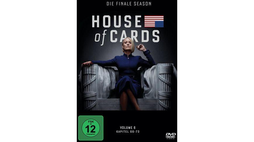 House of Cards Die finale Season 3 DVDs