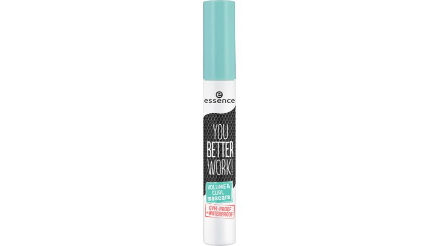 essence you better work volume curl mascara