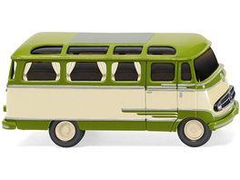 Wiking Panoramabus MB O 319 beige gruen