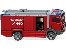 WIKING 061246 Feuerwehr Rosenbauer AT LF MAN TGM Euro 6 1 87