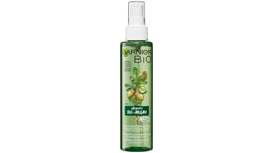 GARNIER BIO Argan Feuchtigkeitsspendendes Gesichts Pflege Spray