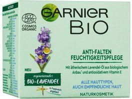 GARNIER BIO Lavendel Anti Falten Feuchtigkeitspflege