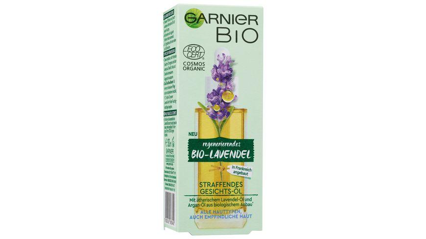 Garnier Bio Lavendel Straffendes Gesichts Oel