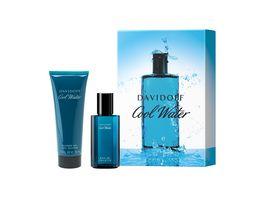 DAVIDOFF Cool Water Duftset Eau de Toilette Showergel