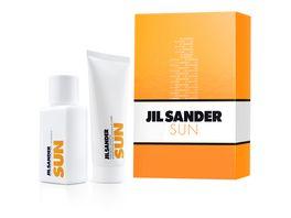 JIL Sander Sun Woman Duftset Eau de Toilette Showergel
