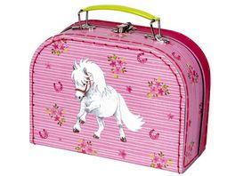 Die Spiegelburg Spielkoffer Mein kleiner Ponyhof gesticktes Pony