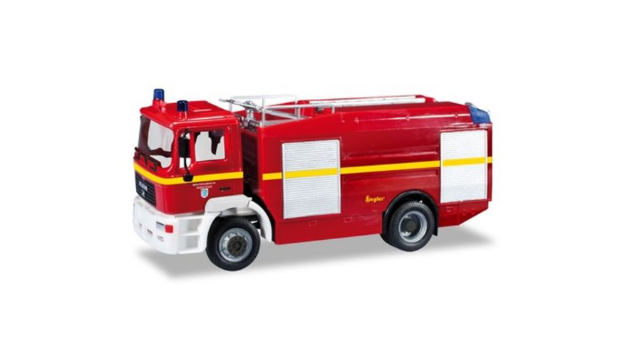 Herpa 93927 MAN M 2000 EVO Tankloeschfahrzeug Feuerwehr Ingolstadt
