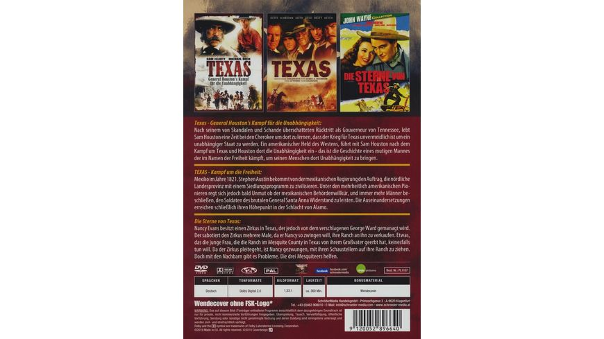 Texas Western Collection 2 DVDs