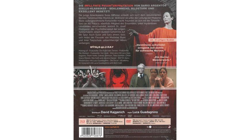 Suspiria Mediabook 1 Blu ray 1 DVD 1 Bonus Blu ray Cover B