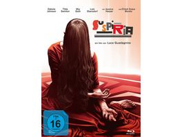 Suspiria Mediabook 2 Blu rays 1 DVD Cover B
