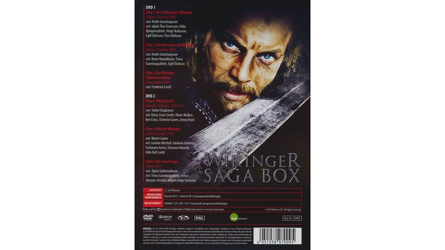 Wikinger Saga Box 2 DVDs