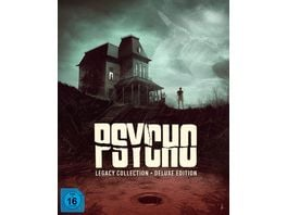 Psycho Legacy Collection Deluxe Edition 8 BRs 3 Bonus DVDs