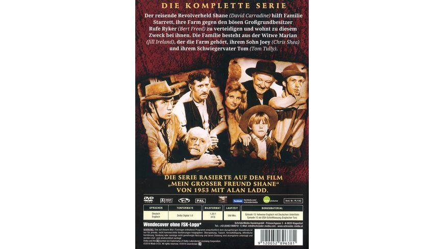 Shane 3 DVDs