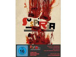 Suspiria Mediabook 2 Blu rays 1 DVD Cover A