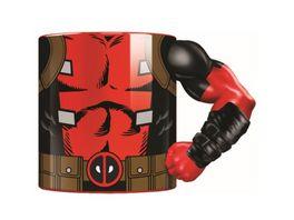 Marvel Tasse Deadpool 3D Arm