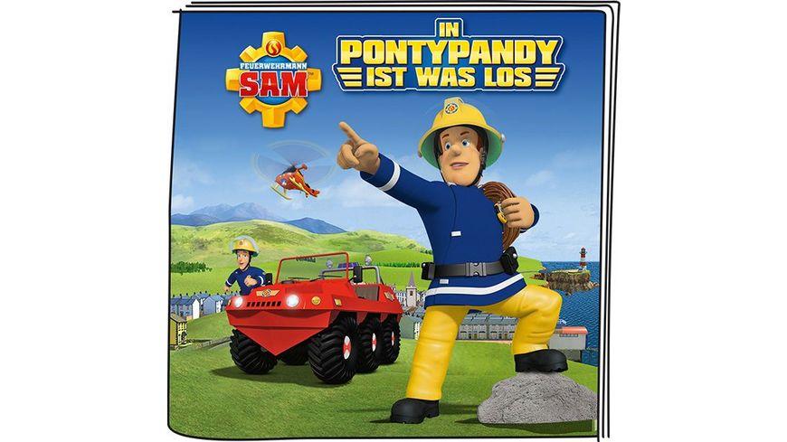tonies Hoerfigur fuer die Toniebox Feuerwehrmann Sam In Pontypandy ist was los
