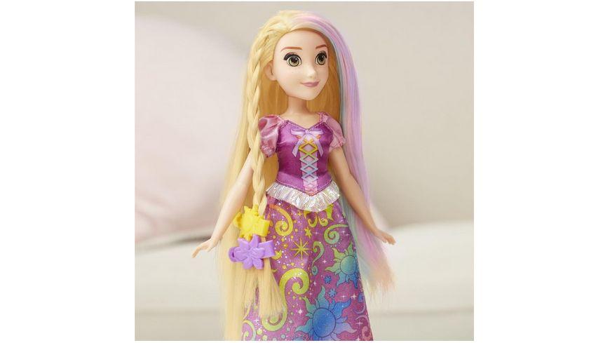Hasbro Disney Prinzessin Rapunzels magisches Regenbogen Haar