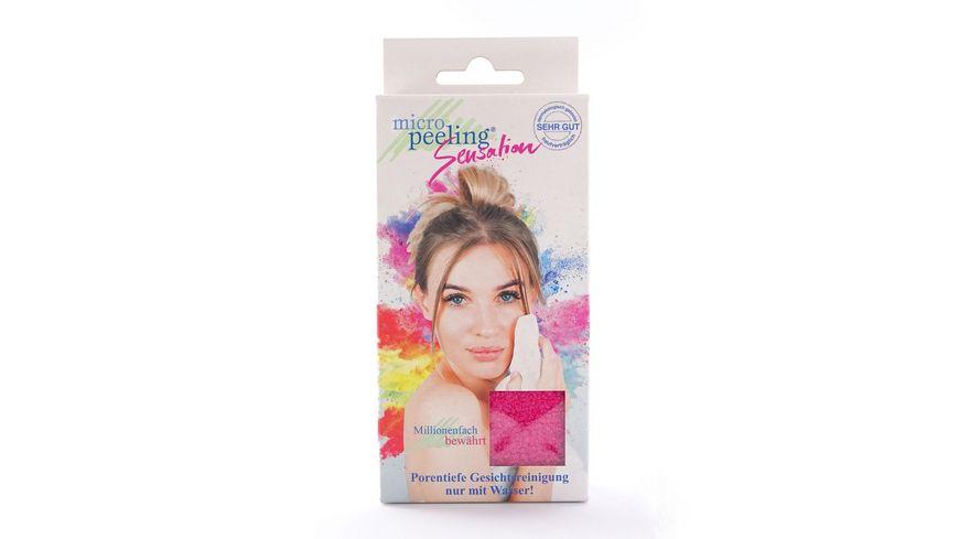 Micro Peeling Sensation Gesichtsreinigungstuch Micro Peeling pink