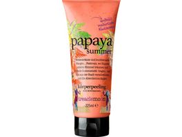 treaclemoon koerperpeeling papaya summer