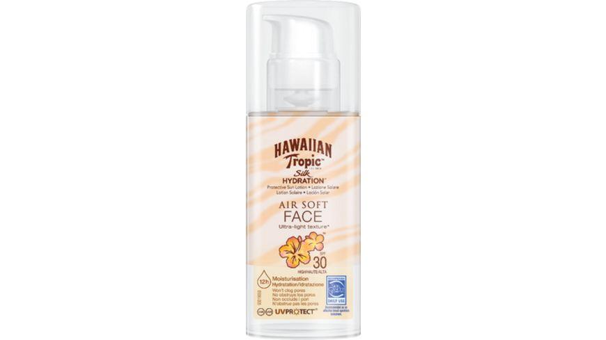 Hawaiian Tropic Silk Hydration Sun Lotion Air Soft Face Sonnencreme LSF 30