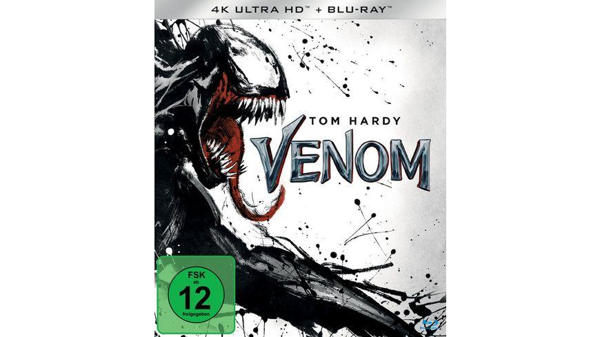 Venom 4K Ultra HD Blu ray 2D