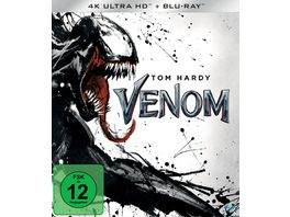 Venom 4K Ultra HD Blu ray 2D