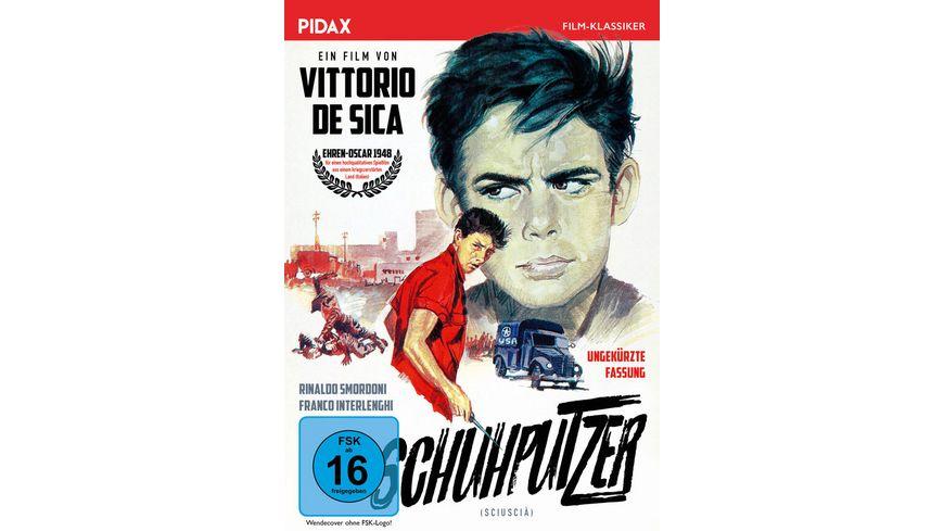 Schuhputzer Sciuscia Oscar preisgekroentes Meisterwerk von Vittorio de Sica in ungekuerzter Fassung Pidax Film Klassiker
