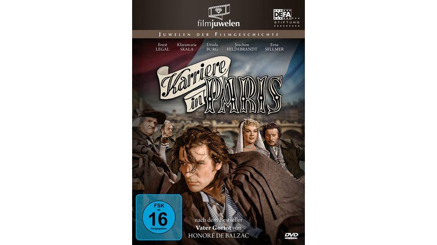Honore de Balzac Karriere in Paris Vater Goriot DEFA Filmjuwelen