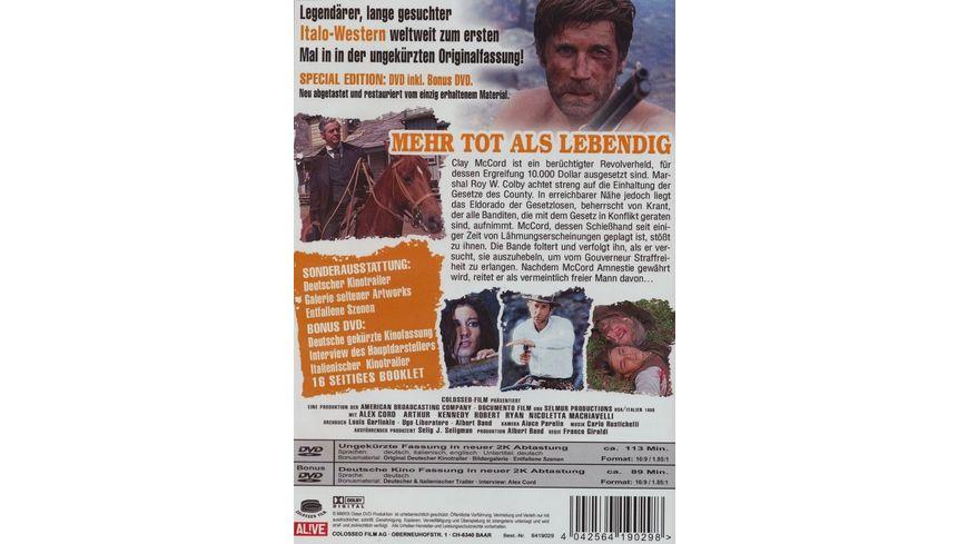 Mehr tot als lebendig Un minuto per pregare un istante per morire inkl Bonus DVD