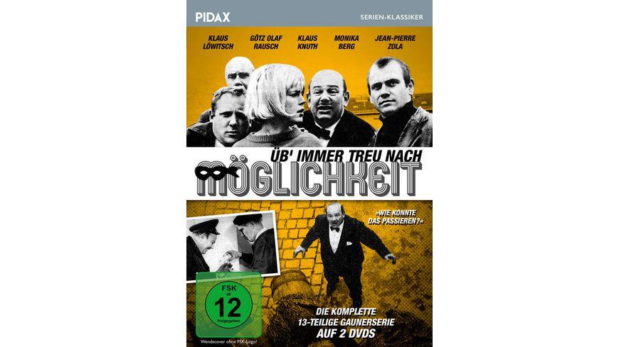 Ueb immer Treu nach Moeglichkeit Die komplette 13 teilige Gaunerserie Pidax Serien Klassiker 2 DVDs