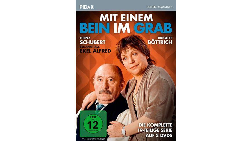 Mit einem Bein im Grab Die komplette 19 teilige Serie mit Heinz Schubert Ekel Alfred von Wolfgang Menge Ein Herz und eine Seele Pidax Serien Klassiker