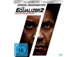 The Equalizer 2 4K Ultra HD Blu ray 2D