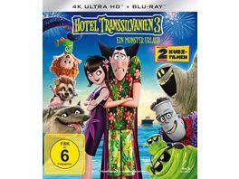 Hotel Transsilvanien 3 Ein Monster Urlaub 4K Ultra HD Blu ray 2D
